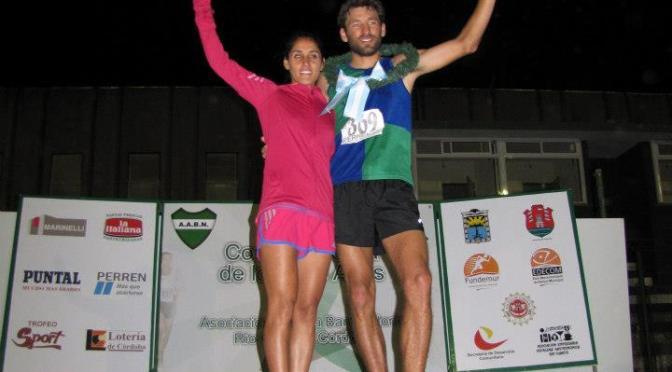 """CARLOS BALCEDO y ROSA GODOY SE QUEDARON CON LA VICTORIA en """"CORRIDA ATLETICA DE LOS DOS AÑOS 2012-2013"""" RIO CUARTO CORDOBA"""