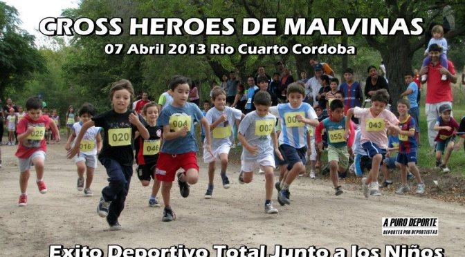 """CROSS """"HEROES DE MALVINAS"""" 07 ABRIL 2013 EN RIO CUARTO Resultados Completos"""