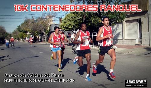FOTO GRUPO ATLETAS DE PUNTA CONTE RANQUEL 2013