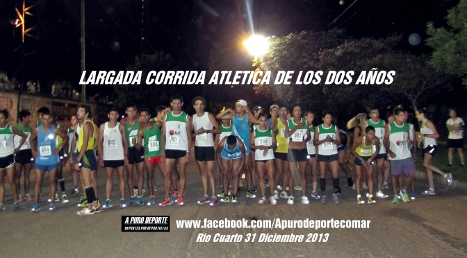 """Marcelo """"Chelo"""" FABRICIUS y Rosa GODOY fueron los Ganadores de la CORRIDA ATLETICA DE LOS DOS AÑOS en Rio Cuarto en la edicion Nro. 36 de la Competencia."""