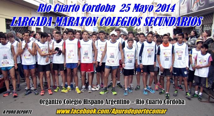 LARGADA COLEGIOS SECUNDARIOS