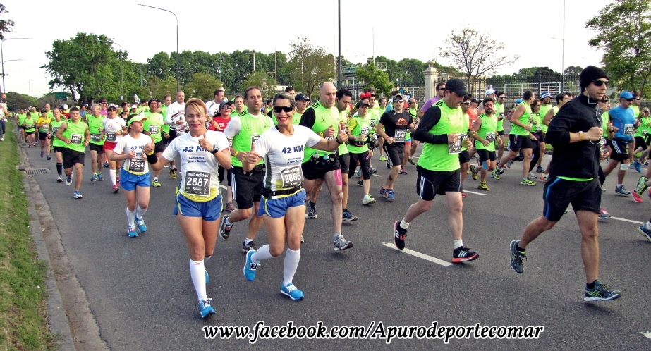 amigas en 42k maraton bs as