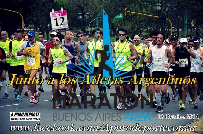 junto a los Atletas Argentinos