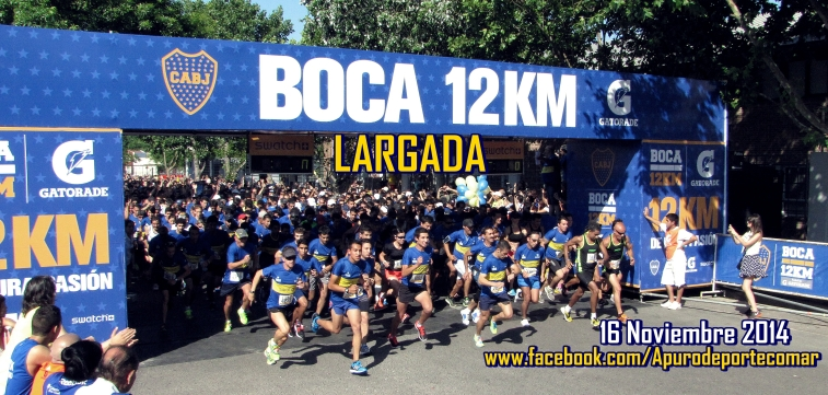 LARGADA BOCA 12 K
