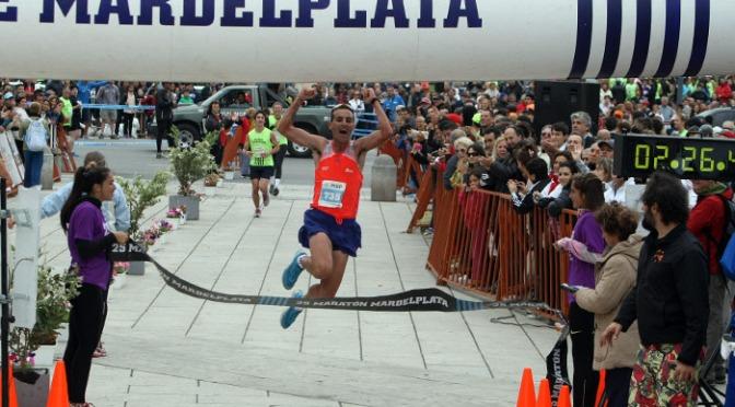 Los Atletas Matías Schiel y Valeria Rodriguez se quedaron con la victoria en los 42K Ciudad de Mar del Plata 30 Noviembre 2014