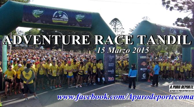 NUEVAMENTE A PURO DEPORTE EN ADVENTURE RACE TANDIL 05-03-2015