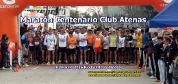 Victorias de los Atletas Julius Rono y Rosa Godoy en Maraton Centenario club Atenas de Rio Cuarto 10 Julio2016