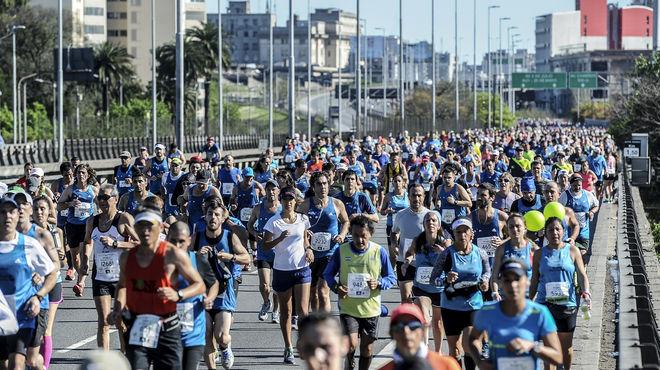 Maratón Ciudad de Buenos Aires 09 octubre 2016, Victorias  de Siraj Gena ANDA, y Lishan Dula GEMGCHU, el podio lo completaron los argentinos Miguel Barzola y Darío Ríos.