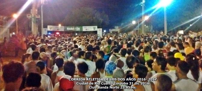 Miguel Angel Guerra y Rosa Godoy triunfaron en la Corrida Atletica de los Dos Años 2016-2017