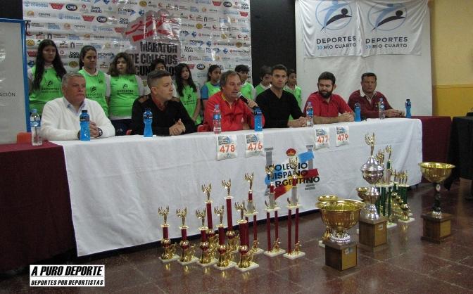 Jueves 07 de setiembre 2017, se presentó la octava edición del Maratón de Colegios Secundarios en la ciudad de Rio Cuarto córdoba