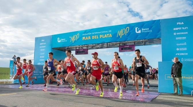 Mariano Mastromarino y María de los Ángeles Peralta se quedaron con la 28º edición de la Maratón