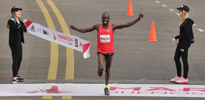 Maratón de Buenos Aires, keniata Kipkemboi ganó con tiempo récord 23 Septiembre 2018