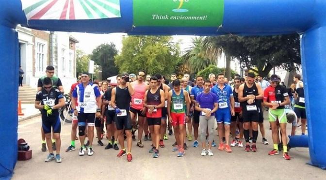 Se disputó el 19º Biatlón de S.I.A.M.A Victorias de Rubén Barrera en varones y Emilia Macor en damas 04-05-2019 en sampacho cordoba.