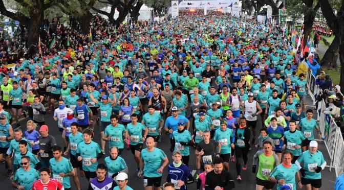 más de 20 mil participantes en los 21K de Buenos Aires 25-08-2019.